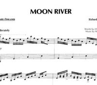 Moon River - Richard Clayderman PDF